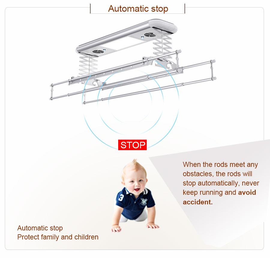 wall mounted hanging rail