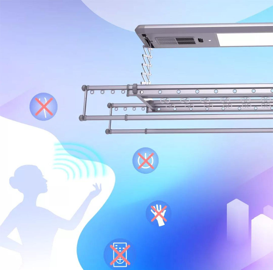 Electric drying racks