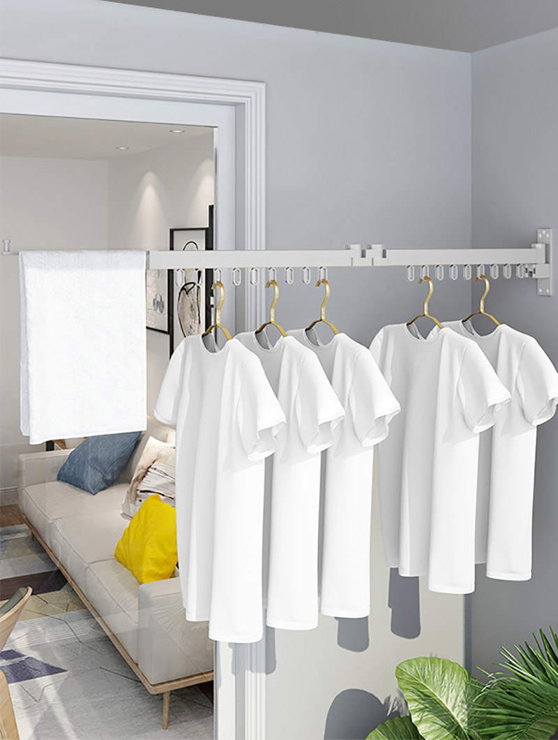 wall mounted cloth hanger