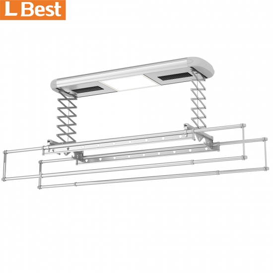 Automatic Clothes Hanger System With UV Disinfection