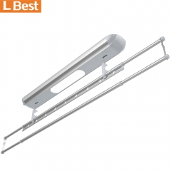 wall mounted clothes drying rack, Extendable hanging pole, Lifting Electric clothes drying rack hanger