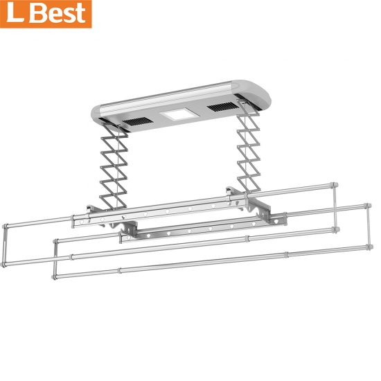 Lifting Electric Clothes Drying Rack Hanger Retractable Automatic Clothes Drying Hanger