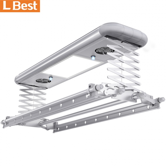 Fashion Ceiling Mounted Cloth  Electric Clothes Hanger Rack