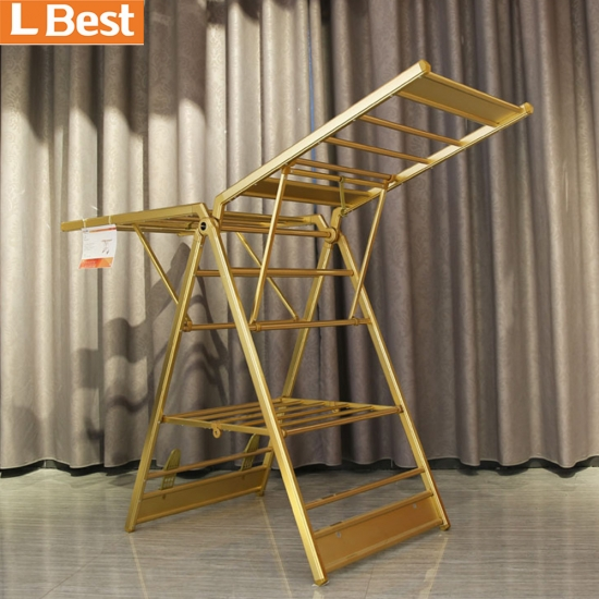 Steel Clothes Hanging Rack Dry Clothes Stand Rack Standing Clothes Drying Rack