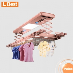 auto clothes rack