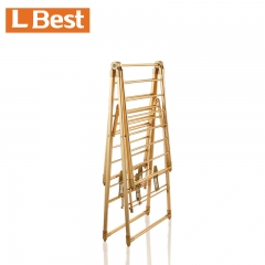 standing clothes drying rack