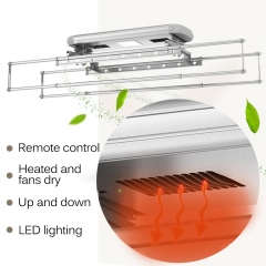 Electric best wall mounted heated clothes airer