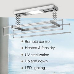 wall mounted electric clothes airer