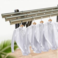 wall clothes line