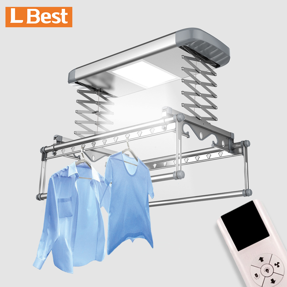 Featured smart clothes rack