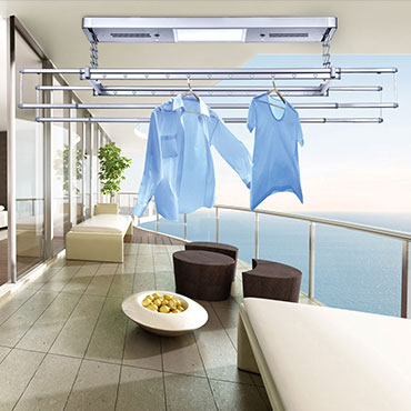 Luxury automatic clothes rack